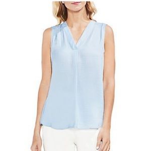 Vince Camuto Sleeveless V-Neck Blouse Size M